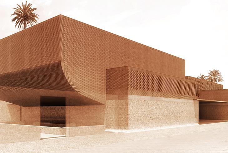 m dias mus e yves saint laurent marrakech. Black Bedroom Furniture Sets. Home Design Ideas