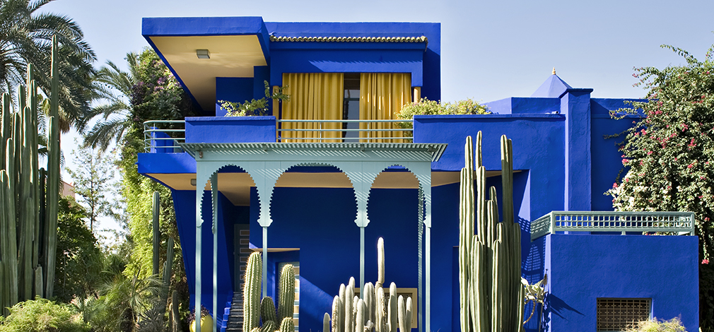 fondation jardin majorelle mus e yves saint laurent marrakech. Black Bedroom Furniture Sets. Home Design Ideas