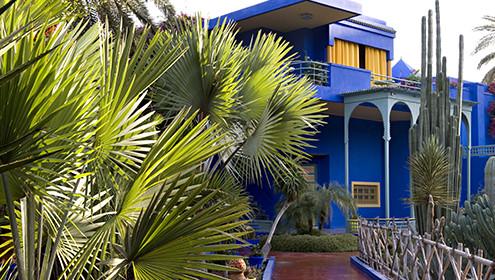 Le Jardin Majorelle Musee Yves Saint Laurent Marrakech