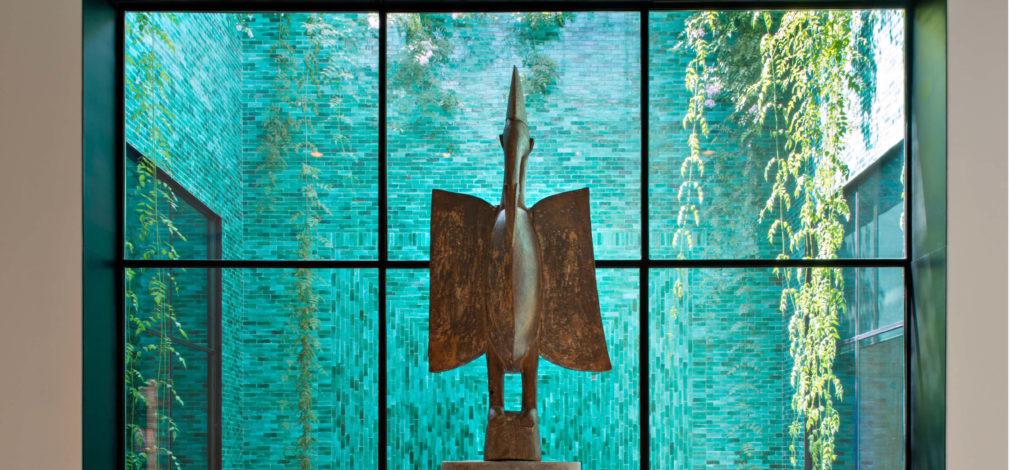 Oiseau Senufo acquis par Yves Saint Laurent et Pierre bergé, année 1960